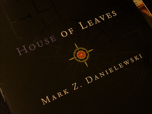 House of leaves page layout