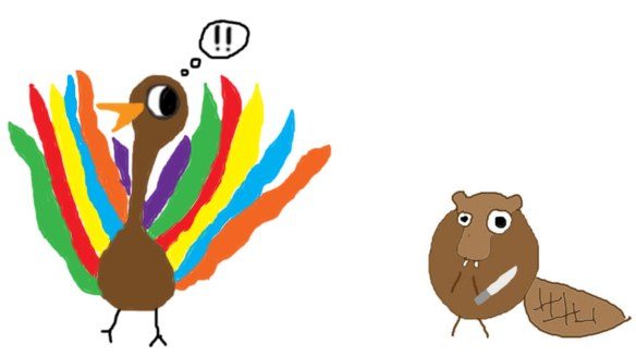 cartoon_beaver_turkey
