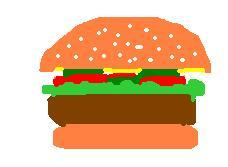 cartoon_hamburger